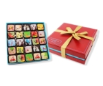 MARIEBELLE 25PC GANACHE HOLIDAY RED BOX  Thumbnail