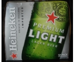 HEINEKEN LIGHT 12 PACK/12OZ BOTTLES Thumbnail