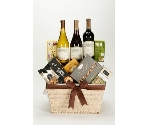 CHATEAU ST. JEAN WINE BASKET W/ 1 BOTTLE Thumbnail