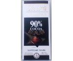LINDT EXCELLENCE 90%COCOA SUPREME DARK Thumbnail
