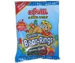 E.FRUTTI GUMMI BEAR-RINGS 4OZ Thumbnail