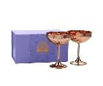 ELYX COPPER 2 PIECE COCKTAIL COUPE SET   Thumbnail