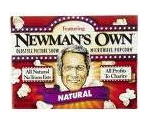 NEWMANS OWN MICROWAVE POPCORN NATURAL    Thumbnail