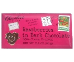 CHOCOLOVE RASPBERRIES IN DARK CHOCOLATE  Thumbnail