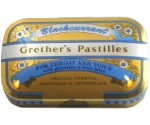 GRETHERS PASTILLES BLACKCURRANT SF 3.75  Thumbnail