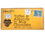 CHOCOLOVE TOFFEE ALMONDS MILK CHOCOLATE  Thumbnail