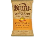 KETTLE KRINKLE CHEDDAR SOUR CREAM 5OZ    Thumbnail