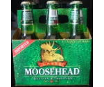 MOOSEHEAD CANADIAN BEER 6 PACK/ 12OZ BTL Thumbnail