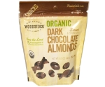 WOODSTOCK DARK CHOCOLATE ALMONDS 6.5OZ   Thumbnail